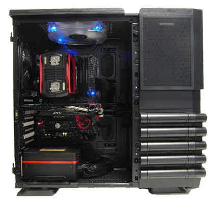 PC-takeオリジナルコラボPC Powered by MSI & Thermaltake Edition 製品画像