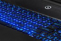プレゼン時の暗い室内で光るキーボードは重宝