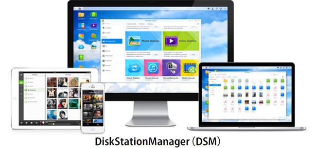 ブラウザベースのオペレーティングシステム「Disk Station Manager」