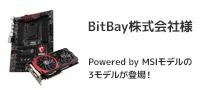 NEXUSコラボレーションモデルにMSI製マザーボード・グラフィックスボードを採用