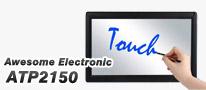 後付けで液晶ディスプレイがタッチ機能対応に。手軽な装着が魅力のAwesome Electronic製「Touch Panel Flame for 22inch 16:9 Monitor」