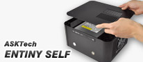 DIY感覚で一から組み立てる、ASKTech製Mini-ITXアルミケース「ENTINY SELF」