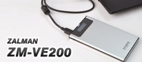 ISOイメージ対応でCD/DVD/BDドライブの代わりにもなる!とっても便利なZalman Tech製HDDケース「ZM-VE200」