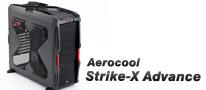 スタイリッシュでよく冷える、ゲーマー向けミドルタワー「Strike-X ADVANCE」