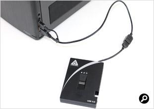 二股ケーブルの接続イメージ