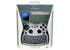 Air Keyboard Conqueror AK08 White