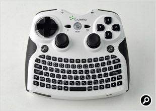 Air Keyboard Conqueror AK08 White本体正面