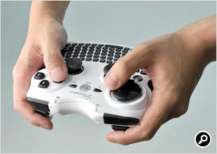 ゲームパッド利用時の上面ボタンのポジション