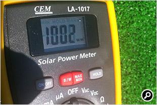ソーラーパワーメーター