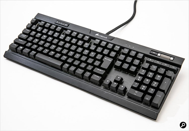 Corsair Components K70 RGB MK.2 MX Red Keyboard 日本語キーボード 製品画像