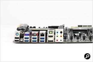 Z77 MPower IOパネル