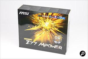Z77 MPower パッケージ