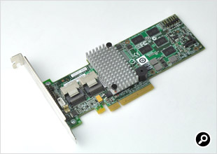 LSIロジックのRAIDボード「MegaRAID SAS9260-8i」