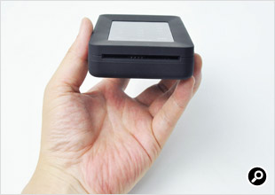 Smartcardの挿入部分