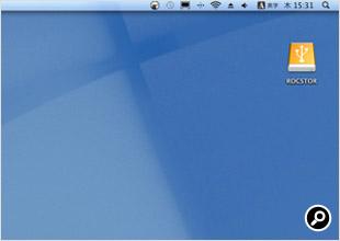 Mac OS X 10.6(Snow Leopard)で認識したところ