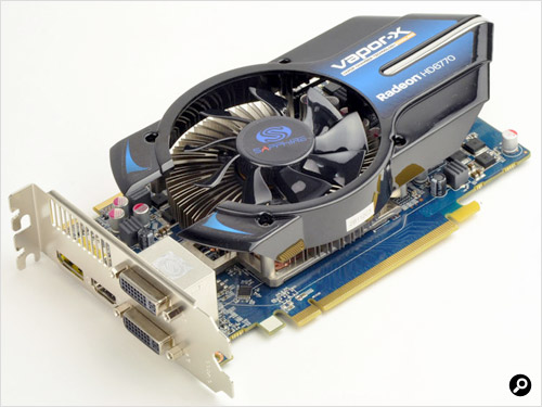 SAPPHIRE VAPOR-X HD6770 1G GDDR5 PCI-E DUAL DVI-I/HDMI/DP OC VERSION製品写真