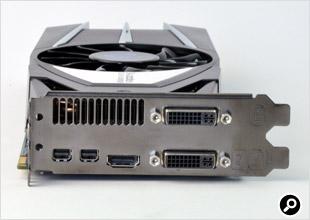 VAPOR-X HD6870の背面端子