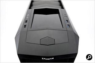 Zalman Z11PLUS 前面端子
