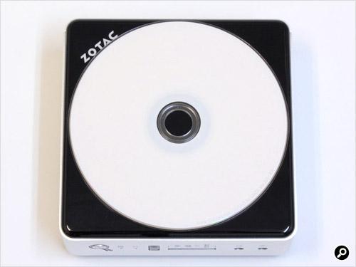 12cmCDと同程度のサイズ