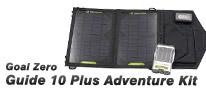 エコ発電に最適! 太陽光を活用した「Guide 10 Plus Adventure Kit」