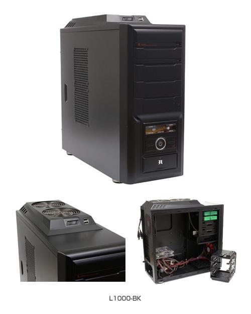 韓国PCケースメーカー3R SYSTEM社製「L1000-BK」