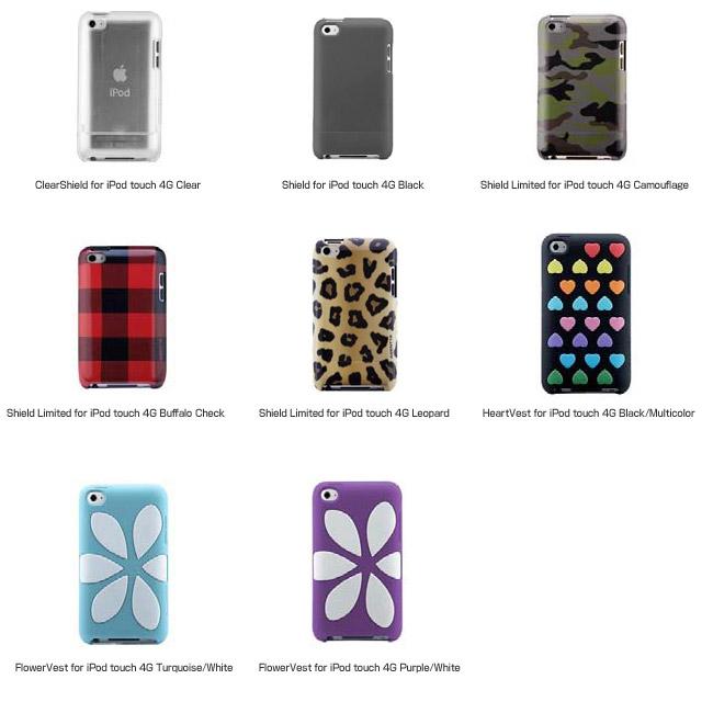 Agent18社製iPod touch第四世代用ケース