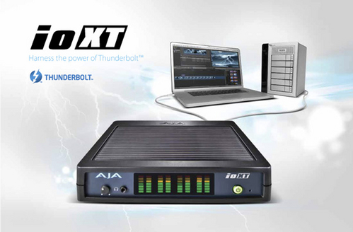 AJA Io XT 製品画像
