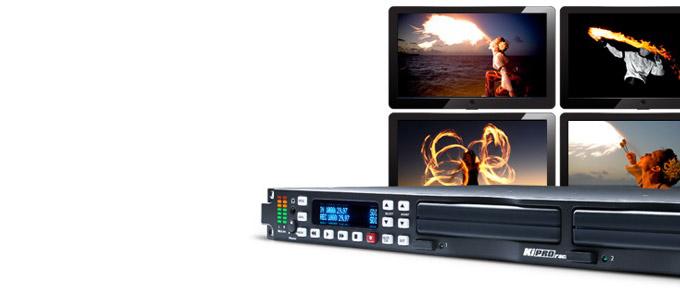 AJA Video Systems社、1RUのラックマウント型ファイルベースレコーダー「 Ki Pro Rack」を発表
