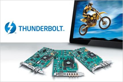 AJA KONAファミリー、Sonnet Thunderbolt Expansion製品との互換性を提供
