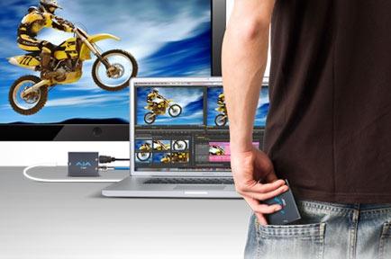AJA Video Systems社、Thunderbolt ワークフローを実現する「T-TAP」を出荷開始