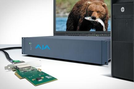 AJA Video Systems社、2K,4KワークフローとスケーリングサポートするマルチフォーマットI/O Corvid Ultraを発表