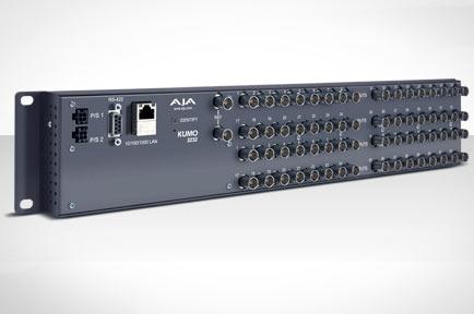AJA Video Systems社、IBC2012にてKUMO3232コンパクトSDIルーターを発表