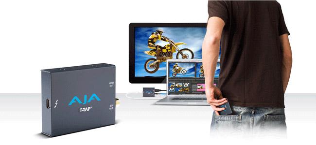 AJA Io XT、およびT-TAPのFinal Cut Pro 7専用コンポーネントをダウンロード提供開始