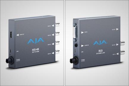 AJA Video Systems社、NAB2013にて新たなミニコンバーターを発表