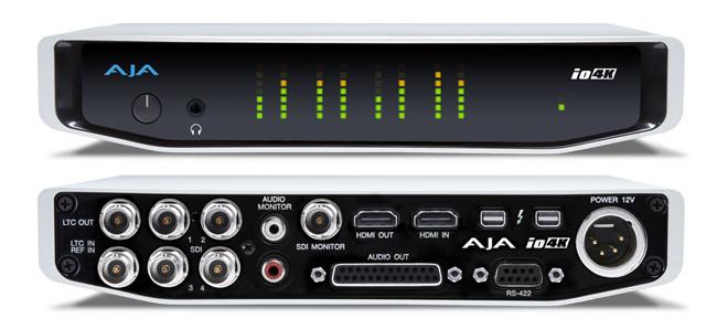 AJA Video Systems社、Io 4KとThunderbolt™ 2のテクノロジープレビューを実施