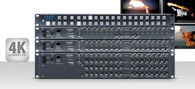 AJA Video Systems社、KUMOルーターのファームウェアを4Kサポートのv3.0にアップデート
