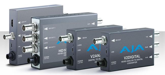 AJA Video Systems社、IBC2013にて新たなミニコンバータを発表