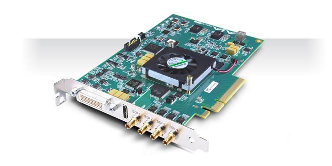AJA Video Systems社、4K 60fpsまでのハイフレームレートをサポートする「KONA 4」を発表