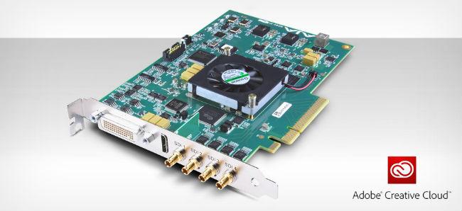 AJA Video Systems社、KONA 4のAdobe Creative Cloudサポートを発表