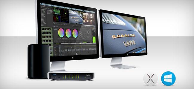 AJA Video Systems社、KONAおよびIoシリーズのドライバーを統合
