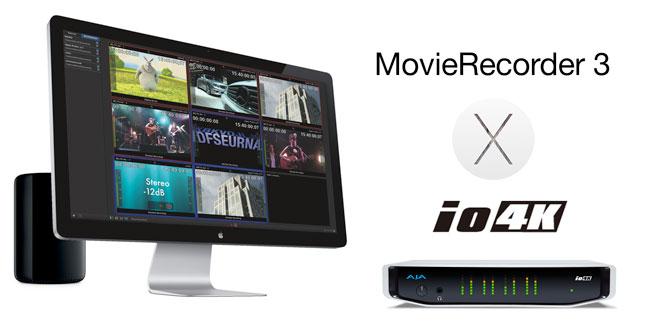 アスクと阿吽技研、Softron Media Services MovieRecorder 3とAJA Io 4Kのバンドル販売を開始