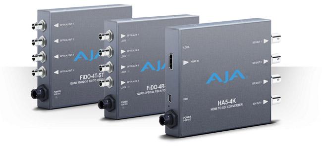 AJA Video Systems社、NAB 2015でミニコンバーターの新製品を発表