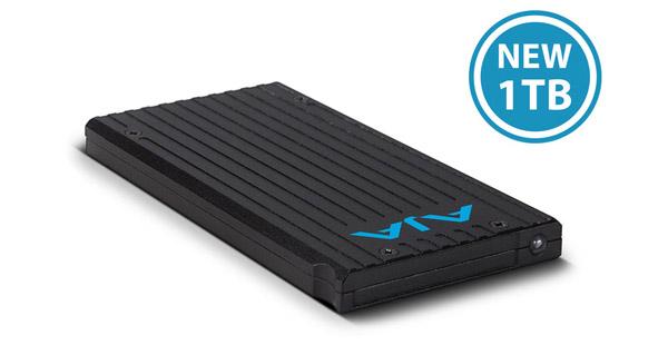 AJA Video Systems社、Pak Mediaシリーズに1TBモデルを追加、256GB/512GBモデルの値下げを発表