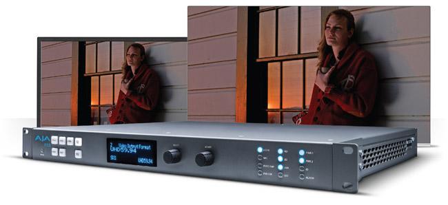 AJA Video Systems社、IBC 2015で4Kアップコンバーター「FS3」を発表
