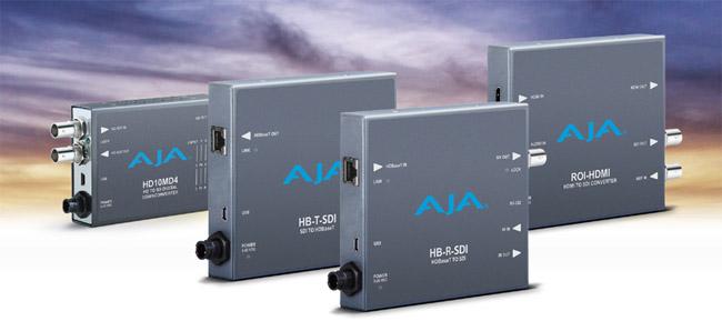 AJA Video Systems社、IBC 2015でミニコンバーターの新製品4モデルを発表