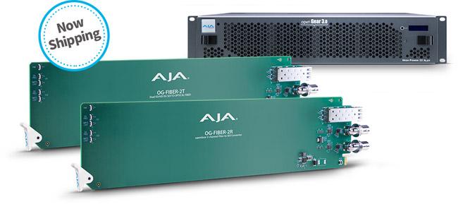AJA Video Systems社、openGear®互換ラックフレーム及びコンバーターカードを日本国内出荷開始