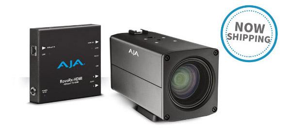 AJA Video Systems社、RovoCam、RovoRX-HDMI、PAK-ADAPT-eSATAの日本国内出荷を開始