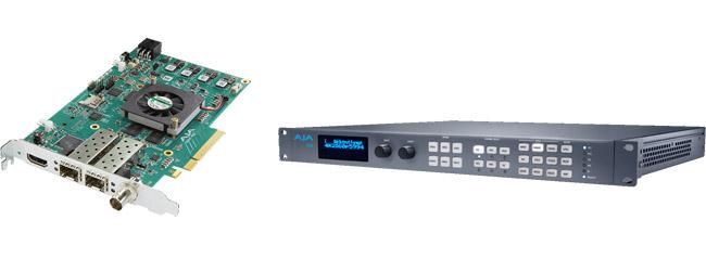 AJA Video Systems社、KONA IPとFS4の日本国内出荷を開始