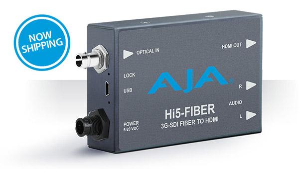 AJA Video Systems社、アップデートされたHi5-Fiberミニコンバーターを出荷開始