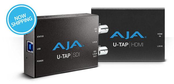 AJA Video Systems社、USB 3.0キャプチャデバイス「U-TAP」を出荷開始